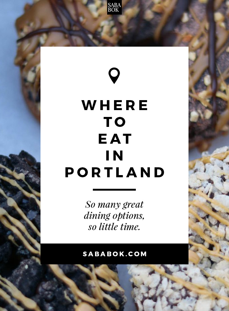 Where To Eat Portland
