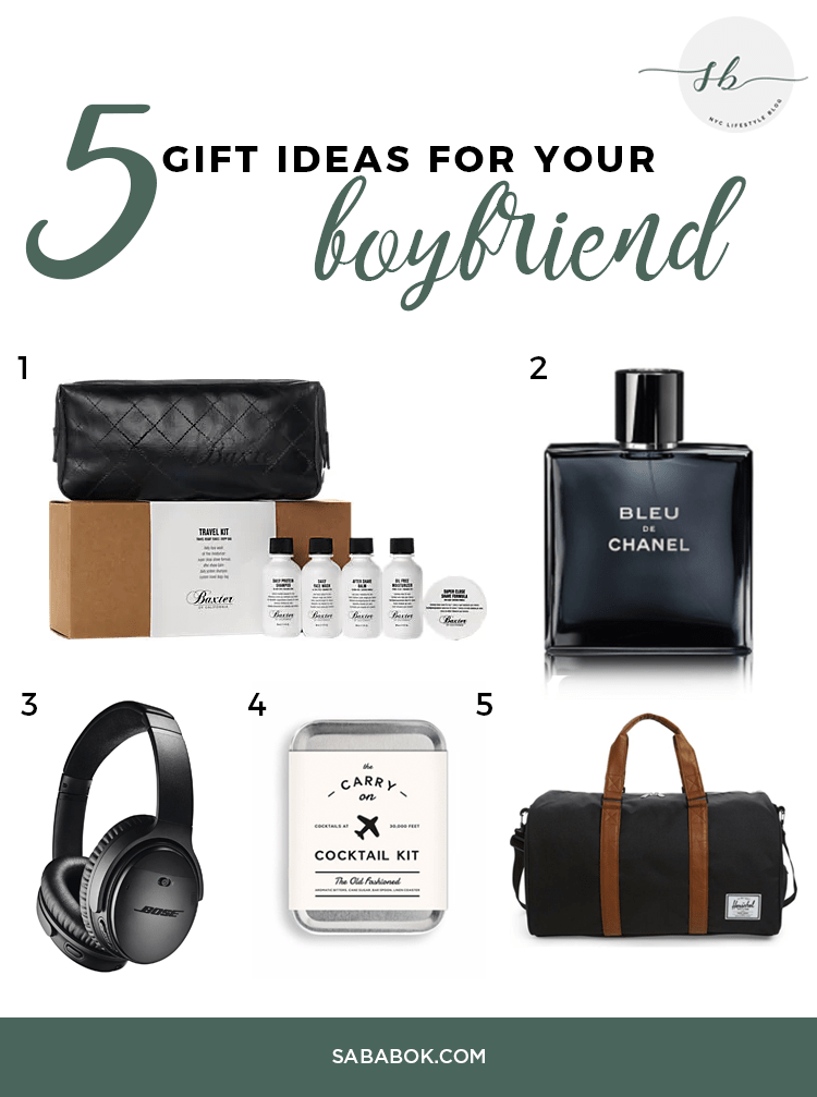 how to give a gift to your boyfriend
