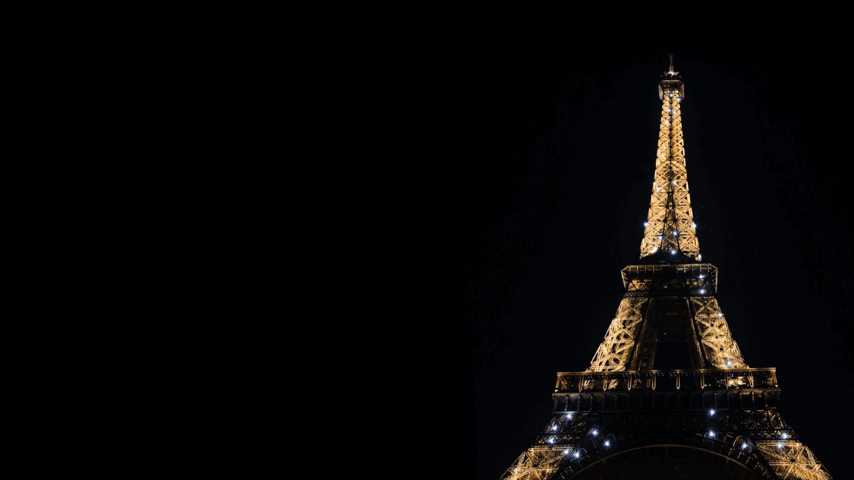 Zoombackgroundsfortravelers Parisatnight 1440x810